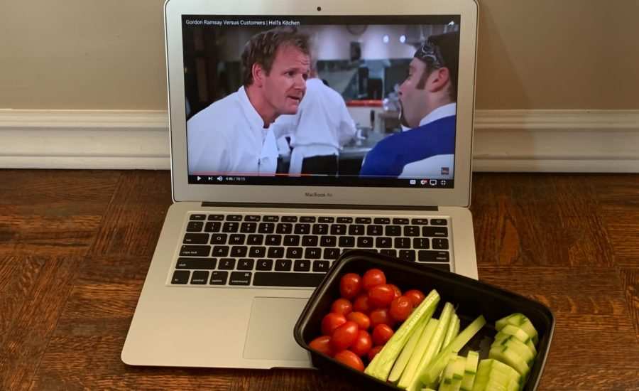 A little Hell's Kitchen from home never hurt nobody.
