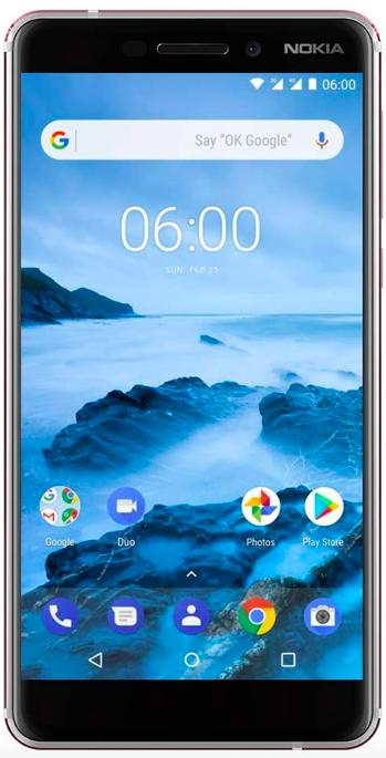The Nokia 6.1 on Amazon.