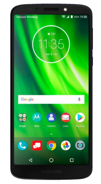The Motorola G6 Play at Best Buy.