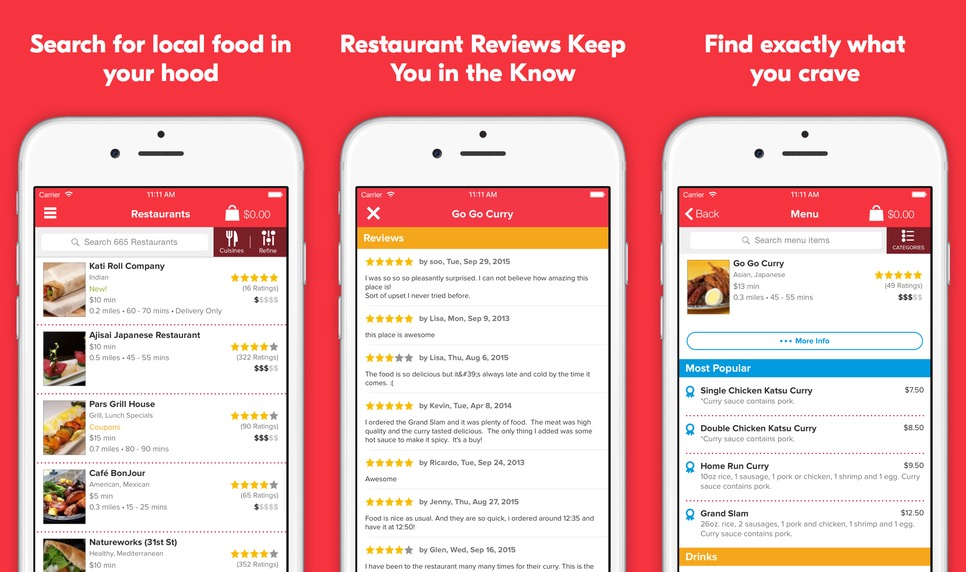 Grubhub best food delivery