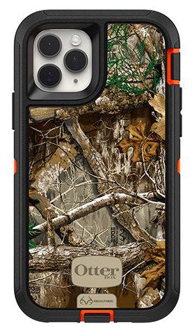 The Realtree Edge Camo Graphic OtterBox Defender iPhone 11 Pro case.