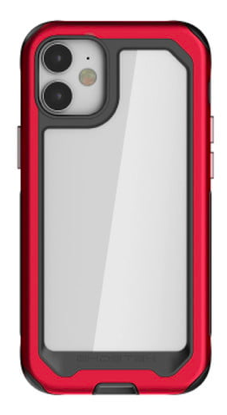 The Ghostek Atomic Slim iPhone case with red panel.