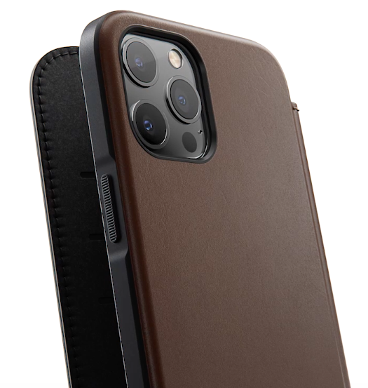 Rugged leather iPhone case from Nomad.