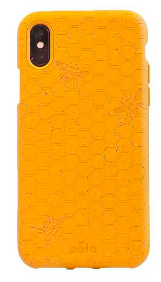 Honey (Bee Edition) Eco-Friendly iPhone X Case from Pela.