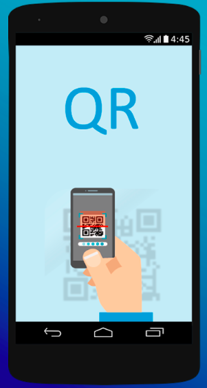 eSIM QR code scanning for Android devices.