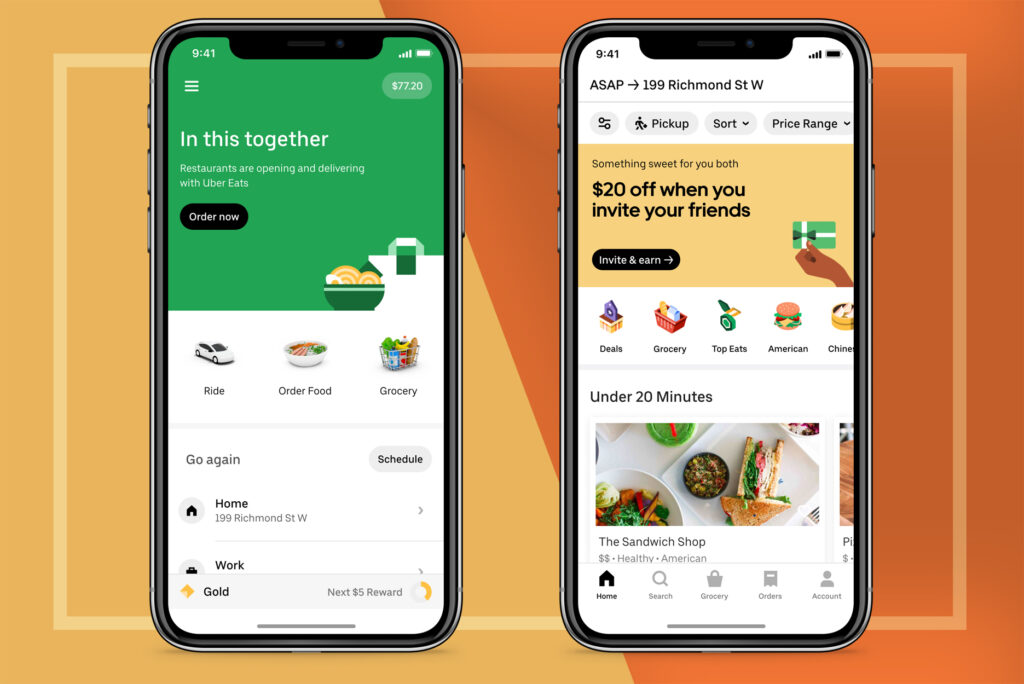 UberEats best food delivery