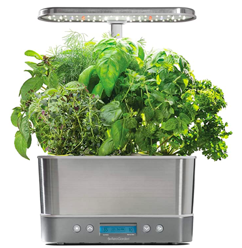 The AeroGarden Harvest Elite tech gift idea from Amazon.