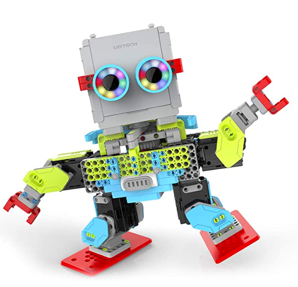 The UBTECH JIMU Robot Meebot 2.0 is one of the most creative tech gift ideas this year.